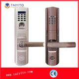 Prix bas de la Chine pour le verrou de porte biométrique imperméable à l'eau d'empreinte digitale