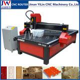 Cnc-Fräser-Maschine 1325 für die hölzerne Holzbearbeitung, die Stein bekanntmacht