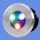 Luz del BALNEARIO LED del color del acero inoxidable 5g Muti