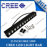 "CREE СИД Driving Light Bar новые 23 "" Single Row, 120W СИД Work Lamp, Truck Work Light Bar, Offroad Bar Light СИД, Waterproof Lighting Bar 12V/24V"