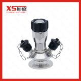 Válvula médica da amostragem de Asepitc do aço inoxidável do VSA Soltions