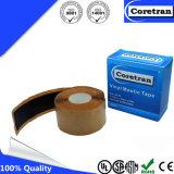 Fabricante de goma auto-adhesivo negro de la cinta de la masilla de la masilla