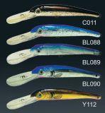 Pêchant l'attrait - attrait en plastique - appât - palan de pêche Pbhs3054&3055 Serie