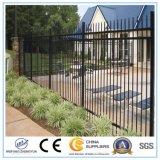 Neuer Entwurf preiswerter Stahlmetallzaun/Eisen-Zaun