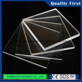 Lamiera sottile di vetro di plastica trasparente poco costosa del materiale di Buliding plexiglass/dell'acrilico