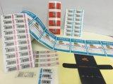I contrassegni personalizzati di stampa risigillabili Facile-Aprono gli autoadesivi multistrato dei contrassegni della costruzione \ autoadesivo piegato \ autoadesivo dell'opuscolo