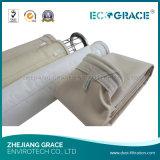 Sacchetto filtro acrilico di antiossidazione per il collettore di polveri del cemento