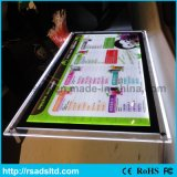 LEDレストランのための水晶メニューライトボックスフレーム