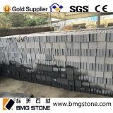 Cube/pavé rond noirs en granit de basalte pavant la pierre naturelle