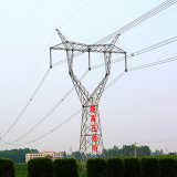550kv Liner Angle Steel Power Transmission Tower