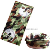 OEM Produza Customized Design Printed Army Pink Polyester Sports Neck Tube Scarf