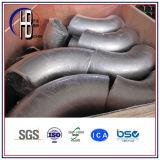 304/316 Roestvrij staal de Gelaste Montage van de Straal van Longe van 90 Graad Elleboog