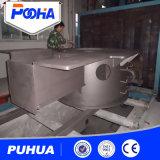Máquina de la limpieza de la ráfaga de tiro de la rueda de la placa de acero