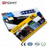 MIFARE EV1 classique 4k, uid de 4 octets, carte sèche de PVC