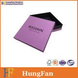 Caja de embalaje del papel cosmético del perfume/rectángulo de papel del regalo