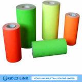 Papier fluorescent autoadhésif (FR4201- (R, G, Y))