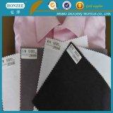 100% Algodón Top Grade Camisa Collar Fusible Interlining, Cap Interlining