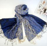 Populair Ontwerp de Sjaal van de Jacquard van de Sjaal van de Vrouwen van Dame Wool Scarf Serpentine Printed