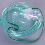 Nebulizador médico descartável Máscara de respiração / máscara de oxigênio