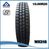 El aseguramiento comercial pone un neumático el neumático radial del carro de las tallas 10.00r20 1000r20