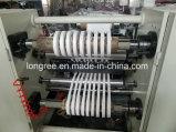 máquina eficiente elevada da folha da borda de borda da folha Extruder/PVC do PVC de 400-600mm com talhadeira e linha da impressão