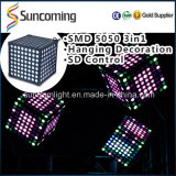 ハングのCeiling Decoration Magic Cude RGB 3in1 3D Disco Light