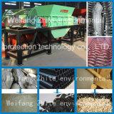 타이어 또는 플라스틱 또는 고무 또는 드럼 또는 나무 또는 타이어 또는 필름 또는 덩어리 또는 엄청나게 큰 길쌈된 부대 또는 타이어 Waste/PCB/Scrap 재생하거나 부엌 금속 또는 두 배 또는 4개의 샤프트 슈레더 기계