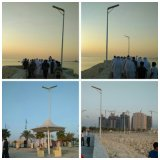Todos en el jardín/Street Lamp Light de One 60W Solar Outdoor LED Solar