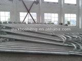 중국 디자인 6m 가로등 강철 폴란드
