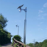 De Openlucht Geïntegreerdee ZonneStraatlantaarn van de goedkope LEIDENE Vervaardiging van de Verlichting