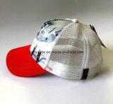 Chapeau de base-ball de mode avec le tirage photos au panneau avant et la maille au dos (LY022)