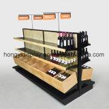 Novos Handmade da alta qualidade antiga chegam cremalheira de madeira feita sob encomenda do vinho