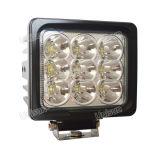 """耐震性の6 """" 12V 90Wのクリー族LEDの洪水作業ランプ"""