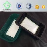 Contenitore di plastica personalizzato del cassetto di imballaggio della carne fresco pp con il rilievo assorbente