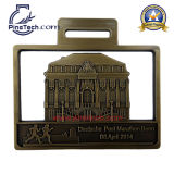 Bienvenue aux médailles faites sur commande de bande d'usine avec Finsih antique