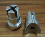 CNCの旋盤にかかる切断と機械で造る高精度のステンレス鋼