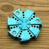 Druck-Tri Spinner-Aluminiumlegierung-Handspinner entlasten