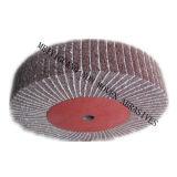 """roda de lustro da aleta da fibra de 8 240# """" X2 """" com papel da areia"""