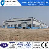 Il basso costo Cina facile e velocemente installa il magazzino/fabbrica della struttura d'acciaio/liberato di con il disegno
