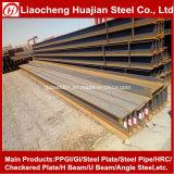 Viga estándar laminada en caliente del acero estructural H del metal en precio por el kilogramo