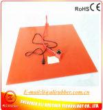 base Heated de 900*900*1.5mm para o calefator flexível da borracha de silicone da impressora 3D