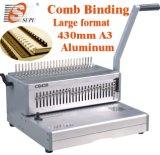 Großes Format A3 Comb Binding Machine für Paper Comb Punching/Binding (CB430)
