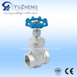 Steel inoxidável 2PC Spring Check Valve