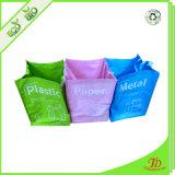 Pp.-Abfall-Beutel-gesetzte Farbe gesponnener Abfall-Beutel mit kundenspezifischem Firmenzeichen
