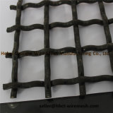 65mn 45#の鋼鉄によって編まれる振動によってひだを付けられる金網の工場