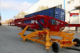 13m 15m 17m販売の4つの車輪のトレーラーの移動式くもの具体的な置くブーム