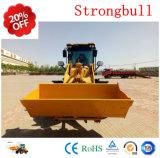 Mini chargeur de roue de Xjn (Strongbull) Zl28 1.8tons avec le prix inférieur en vente