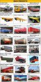 3 de Verlengbare Semi Aanhangwagen Lowbed van assen voor Hete Verkoop