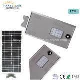 リチウム電池が付いている屋外IP65太陽LEDの軽い6W-100W統合された太陽街灯の/Solarの庭ランプ