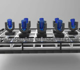 Diseño de la barra de vino del disco de Forktv de la visualización de LED de la etapa del funcionamiento (YZ-P344)